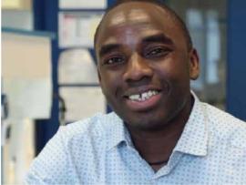 Rafiou Agoro, étudiant entrepreneur à Orléans
