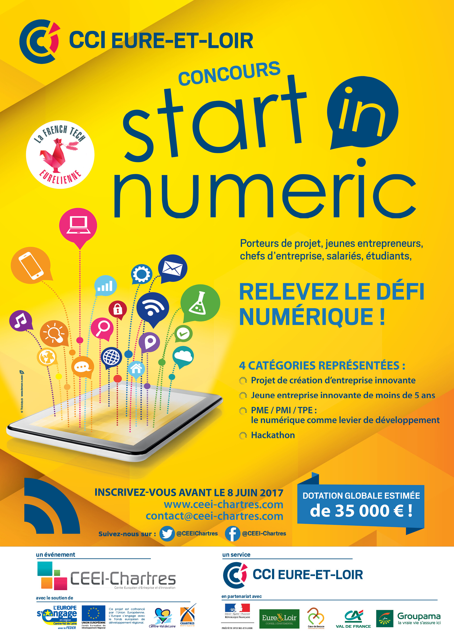 Concours Start in Numeric 2017