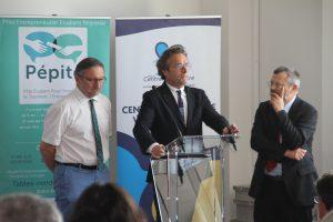 Discours des Présidents d'université et de l'INSA Remise des prix Créa Campus 2017