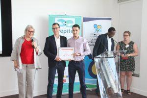 Créa Campus 2017 Prix innovation ECOCLEAN