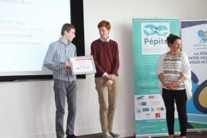 Créa Campus 2017 Prix espoir Gyro'Loc