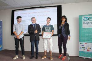 Créa Campus 2017 Prix régional Chimioto